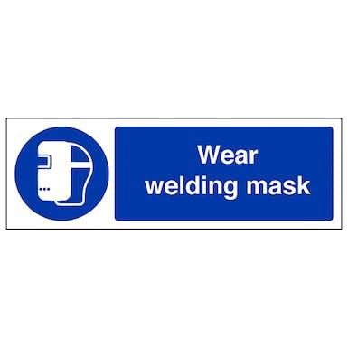 Wear Welding Mask - Landscape