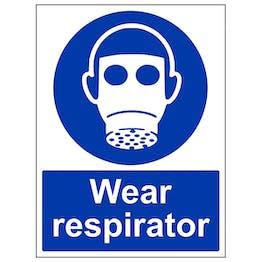Wear Respirator - Portrait