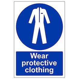 Wear Protective Clothing - Portrait