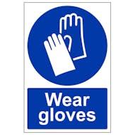 Wear Gloves - Portrait