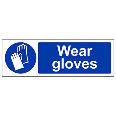 Wear Gloves - Landscape