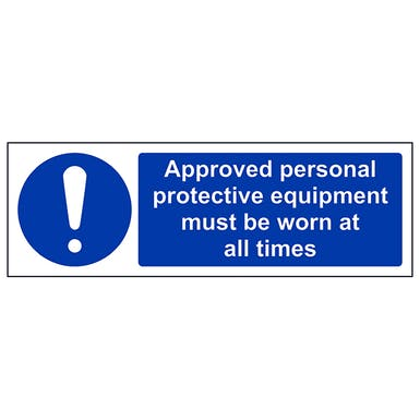 Approved Personal Protective Equipment - Landscape