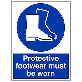 Eco-Friendly Protective Footwear Must Be Worn In This Area