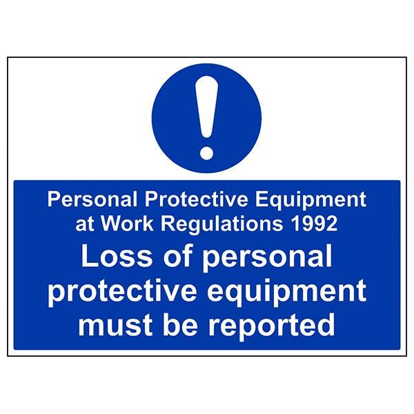 PPE Work Regulations 1992 - Large Landscape