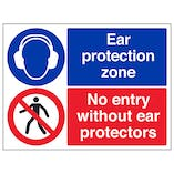 Ear Protectors/No Entry