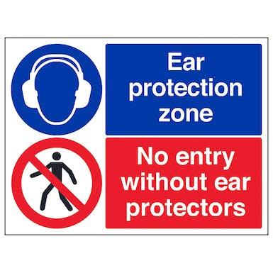Ear Protectors/No Entry