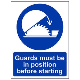 Guards Must Be In Position - Portrait