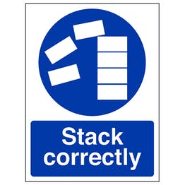 Stack Correctly - Portrait
