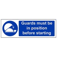 Guards Must Be In Position - Landscape