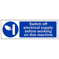 Switch Off Electricity Supply - Landscape