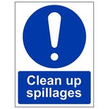 Cleaning & Surface Hygiene Signs