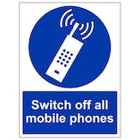 Switch Off All Mobile Phones - Portrait