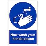 Workplace Hygiene Signs