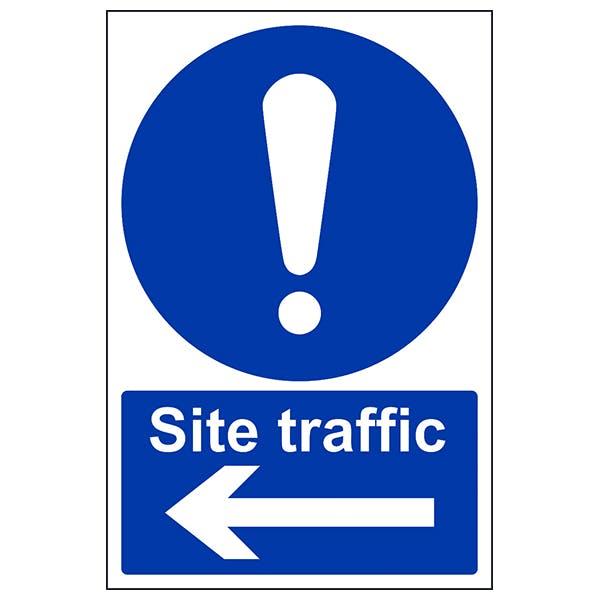 Site Traffic  Arrow Left - Portrait