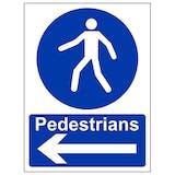 Pedestrians - Arrow Left