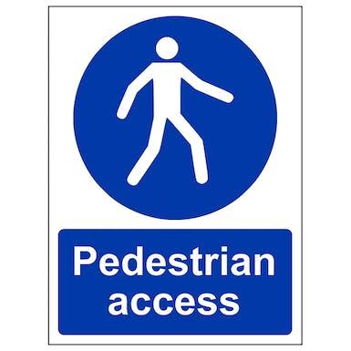 Pedestrian Access - Portrait