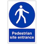 Pedestrian Site Entrance