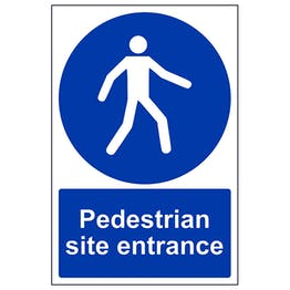 Pedestrian Site Entrance