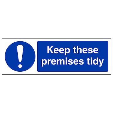 Keep Premises Tidy