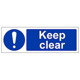 Keep Clear - Landscape