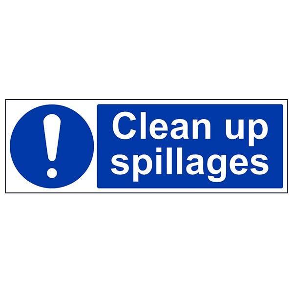 Clean Up Spillages - Landscape