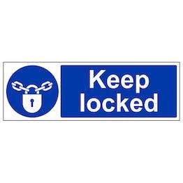 Keep Locked - Landscape