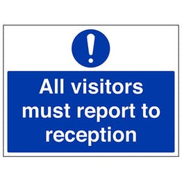 Eco-Friendly All Visitors Must Report To Reception