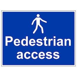 Pedestrian Access - Large Landscape