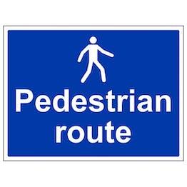 Eco-Friendly Pedestrian Route - Large Landscape
