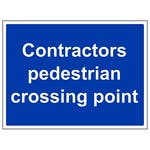 Contractors Pedestrian Crossing Point