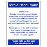 Eco-Friendly Bath & Hand Towels