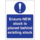 Stock Management Signs