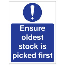 Ensure Oldest Stock Is Picked First