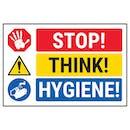 STOP! THINK! HYGIENE!