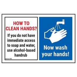 How To Clean Hands? If You Do...Now Wash Your Hands!
