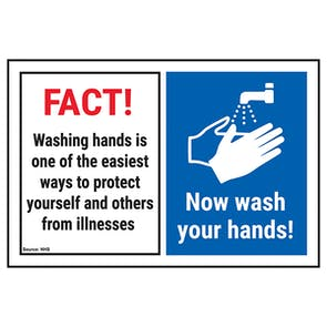 FACT! Washing Hands Is One...Now Wash Your Hands!