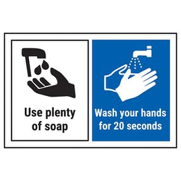 Use Plenty Of Soap…Wash Your Hands..