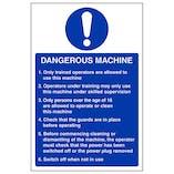Dangerous Machine - Portrait