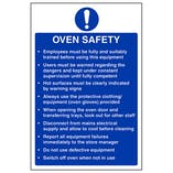 Oven Safety - Portrait