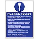 Food Safety Checklist - Portrait