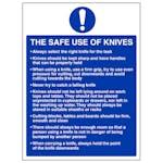 The Safe Use Of Knives - Portrait