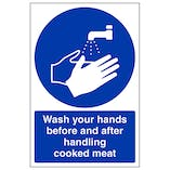 Wash Your Hands - Cooked Meat - Portrait
