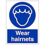 Wear Hairnets - Portrait
