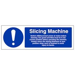 Slicing Machine - Landscape
