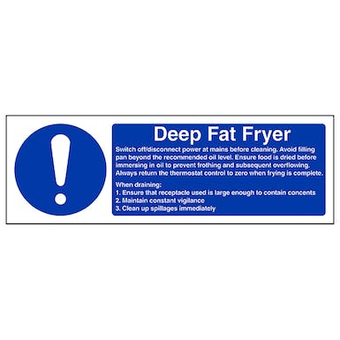 Deep Fat Fryer - Landscape