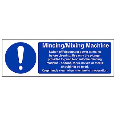 Mincing and Mixing Machine - Landscape