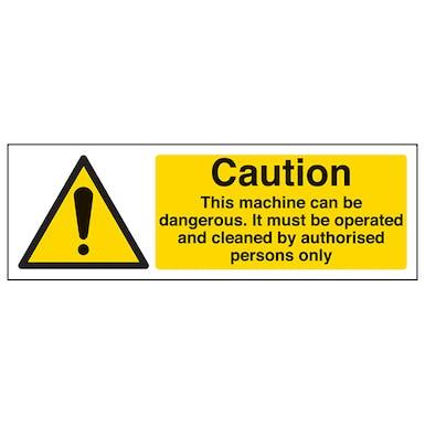 Caution This Machine Can Be Dangerous - Landscape