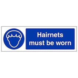 Hairnets Must Be Worn - Landscape