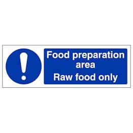Food Preparation Area - Raw Food - Landscape