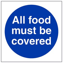 All Food Must Be Covered - Square
